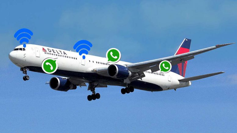 Delta airlines Whats'app