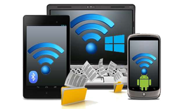 transfer bluetooth Android Windows