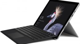 Microsoft Surface PRO Notebook.